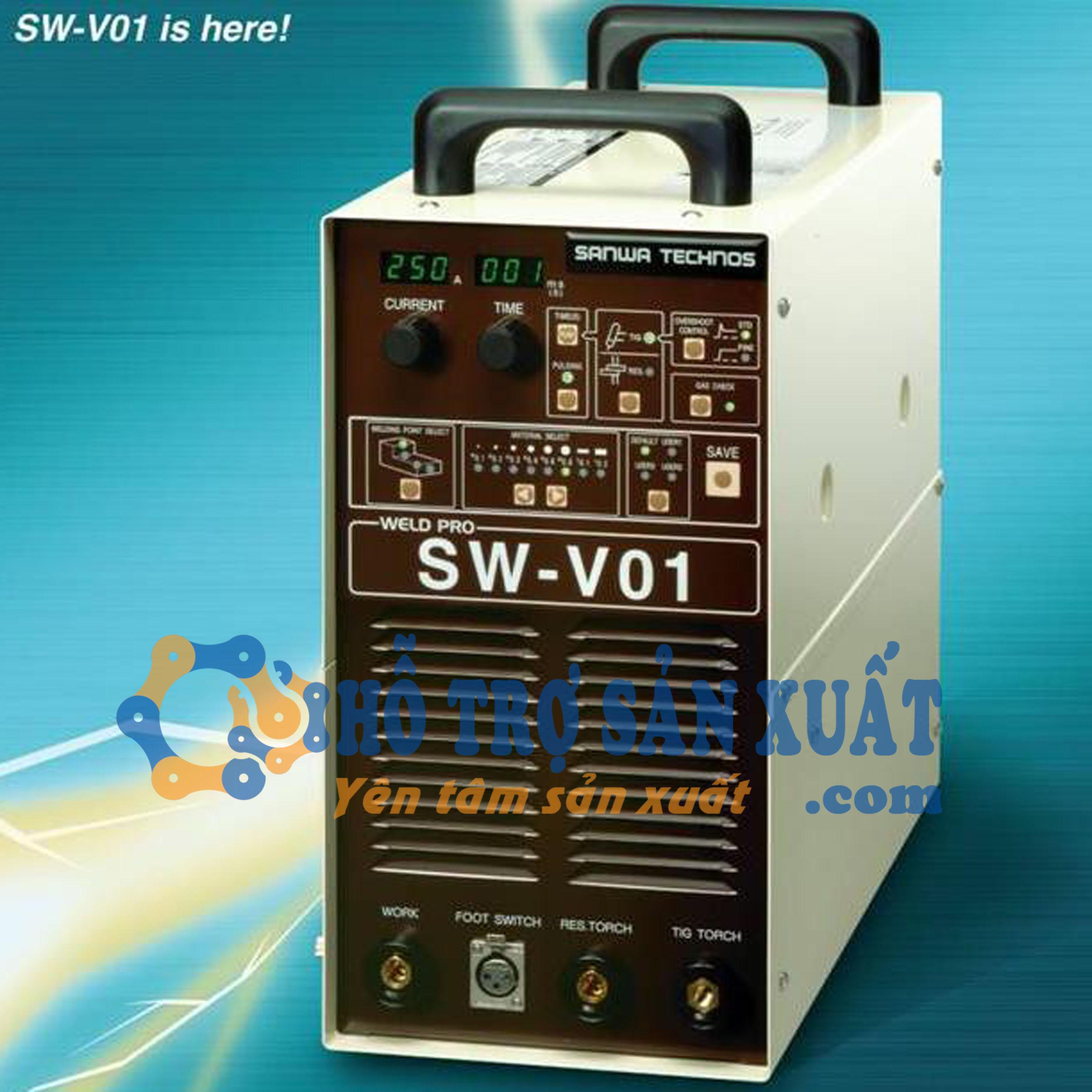 Máy hàn sửa khuôn SW-V01