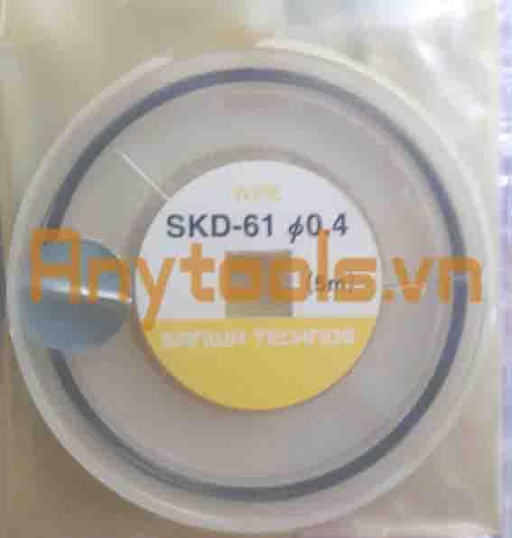 Dây hàn sửa khuôn SKD61 0.4mm