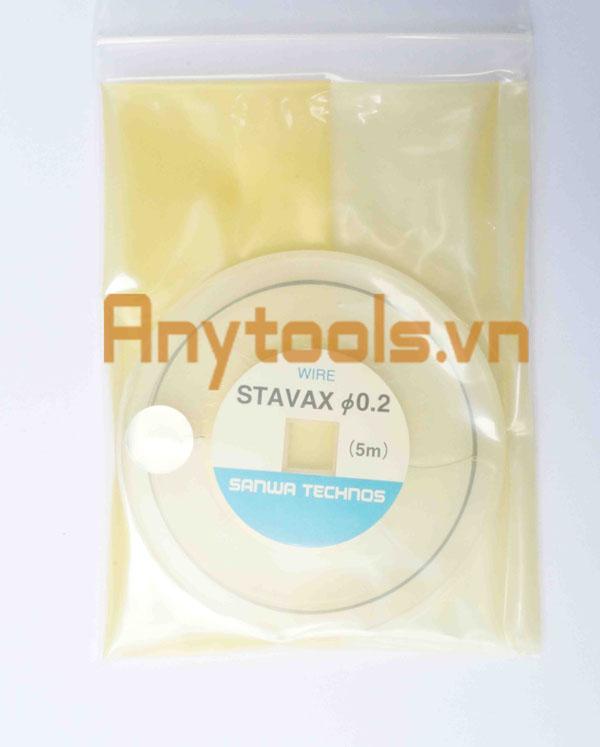 Dây hàn sửa khuôn STAVAX 0.2mm