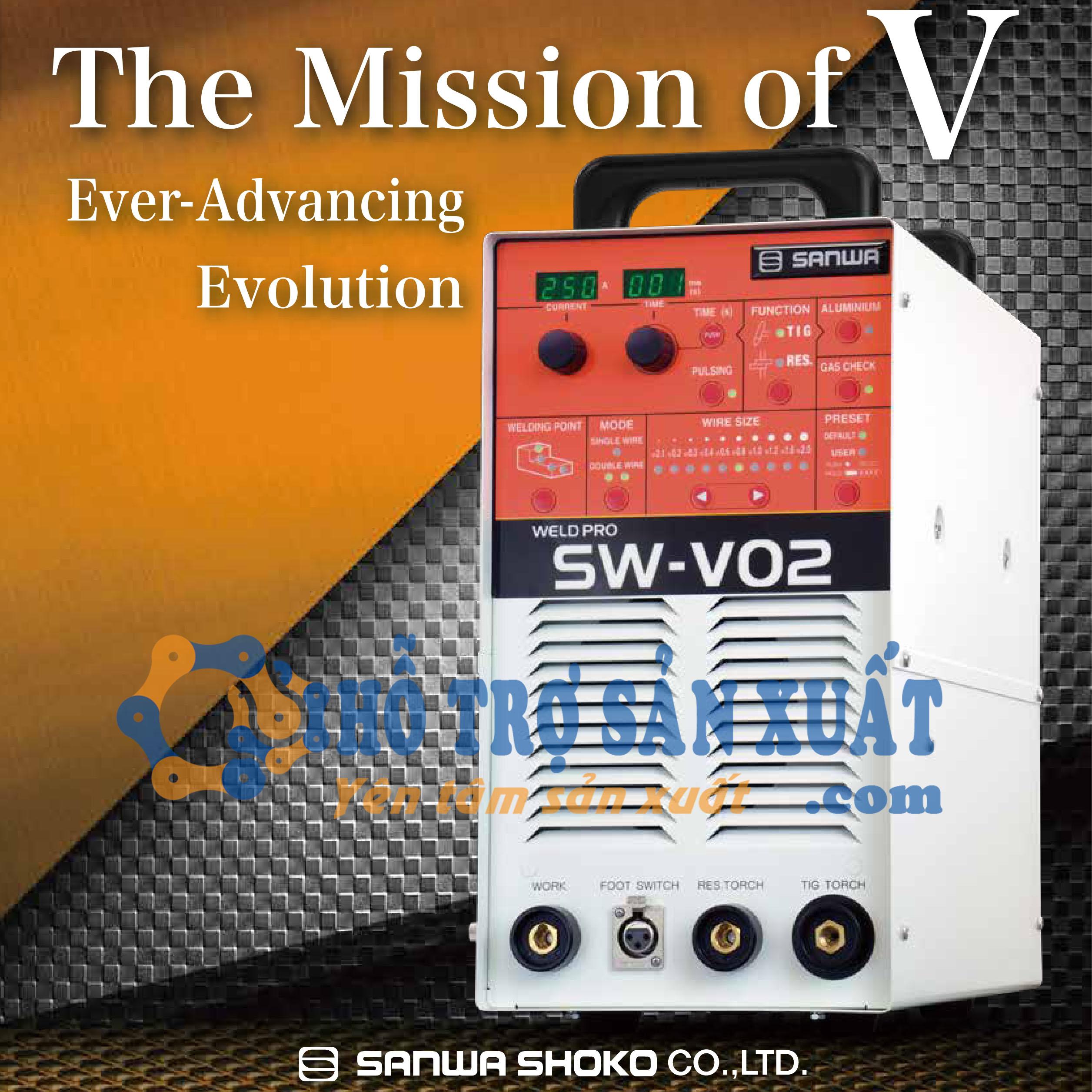 Máy hàn sửa khuôn Sanwa SW-V02