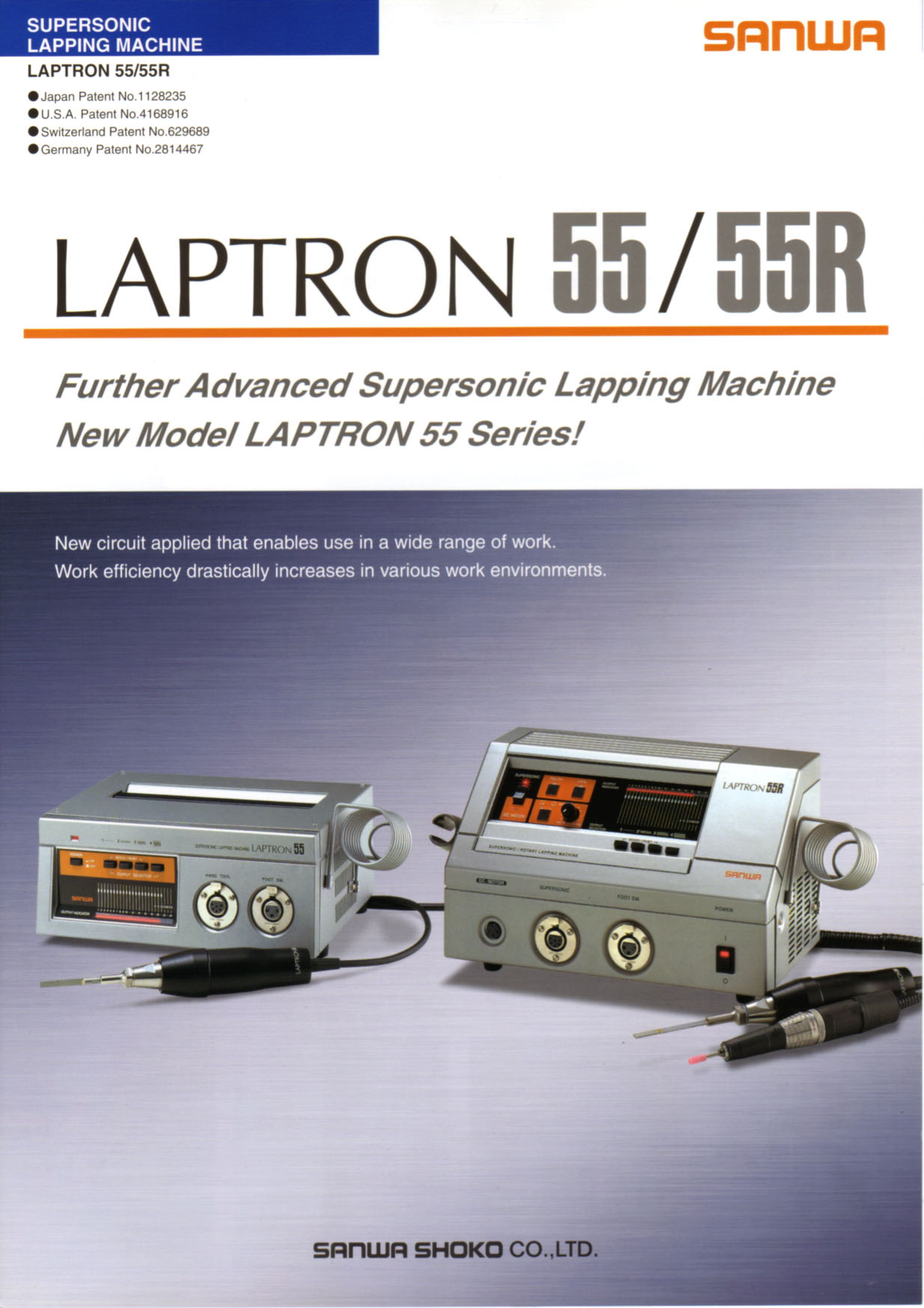 Máy Mài Supersonic Lapping Machine LAPTRON 55