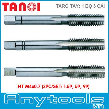 Ta rô tay TANOI HT M4x0.7