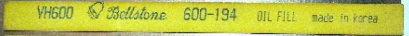 Thanh Đá mài khuôn-Bellston-VH600-36150